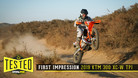 First Impression: 2019 KTM 300 XC-W TPI