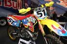 Travis Pastrana's Team Puerto Rico Suzuki RM250