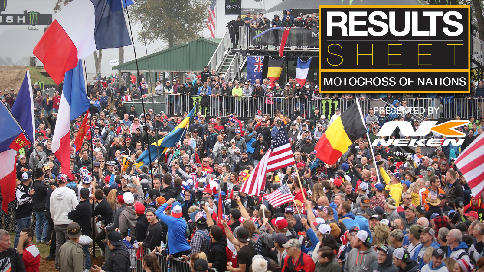 Results Sheet: 2018 Motocross of Nations