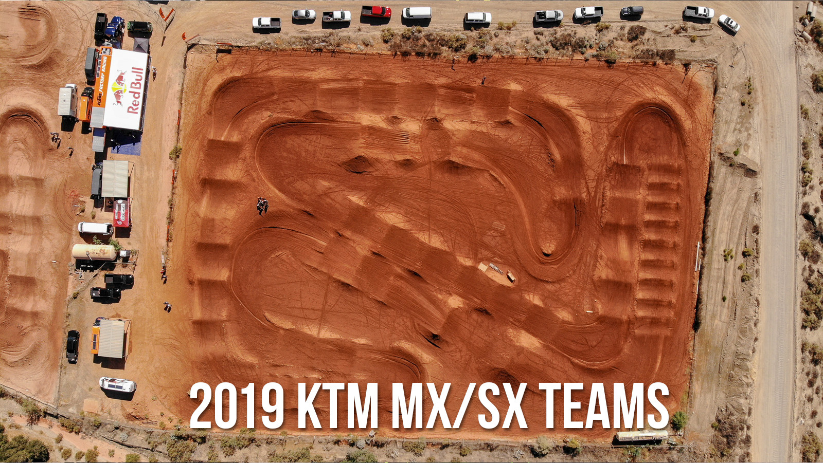 2019 KTM MX/SX Team Intro