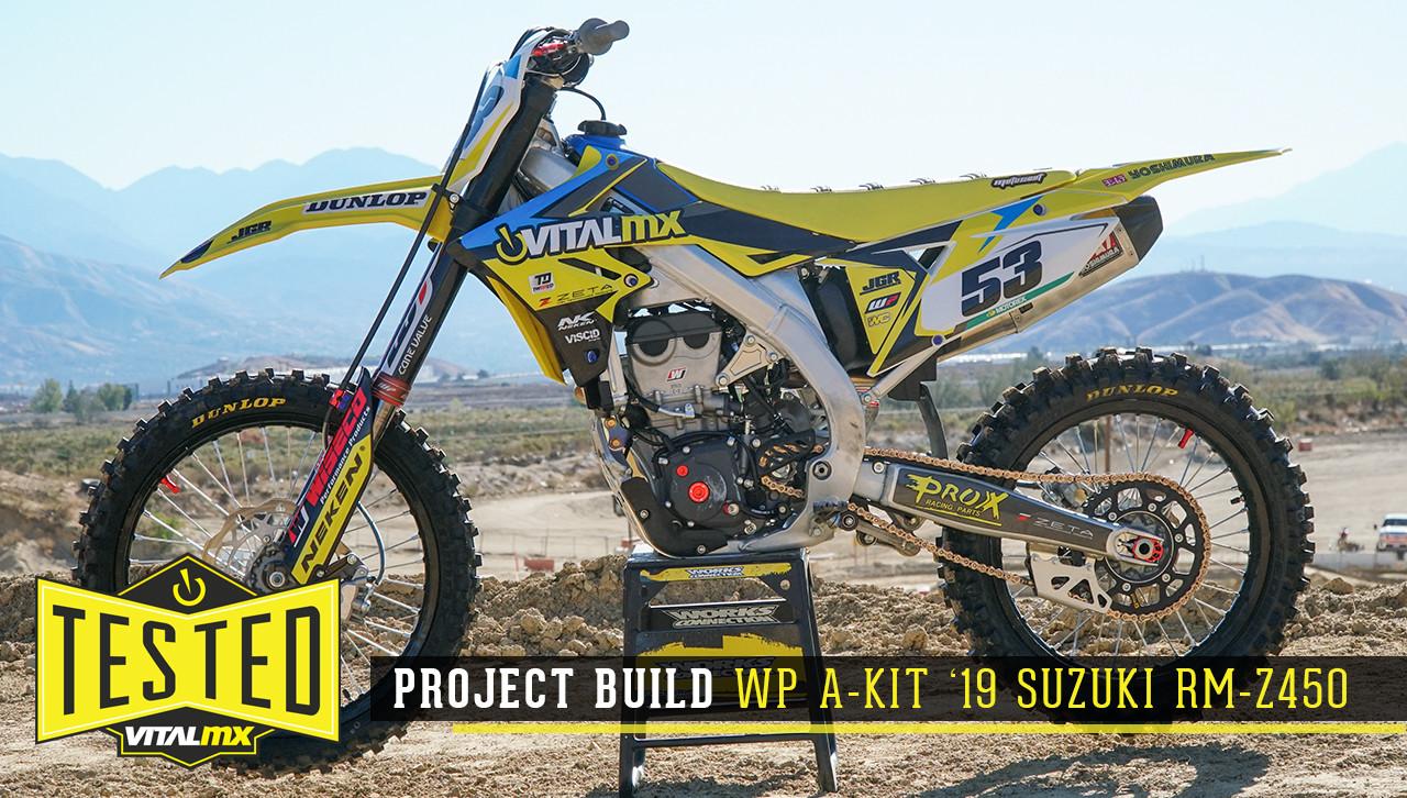 Yellow Redemption: 2019 Suzuki RM-Z450 Race Bike Build