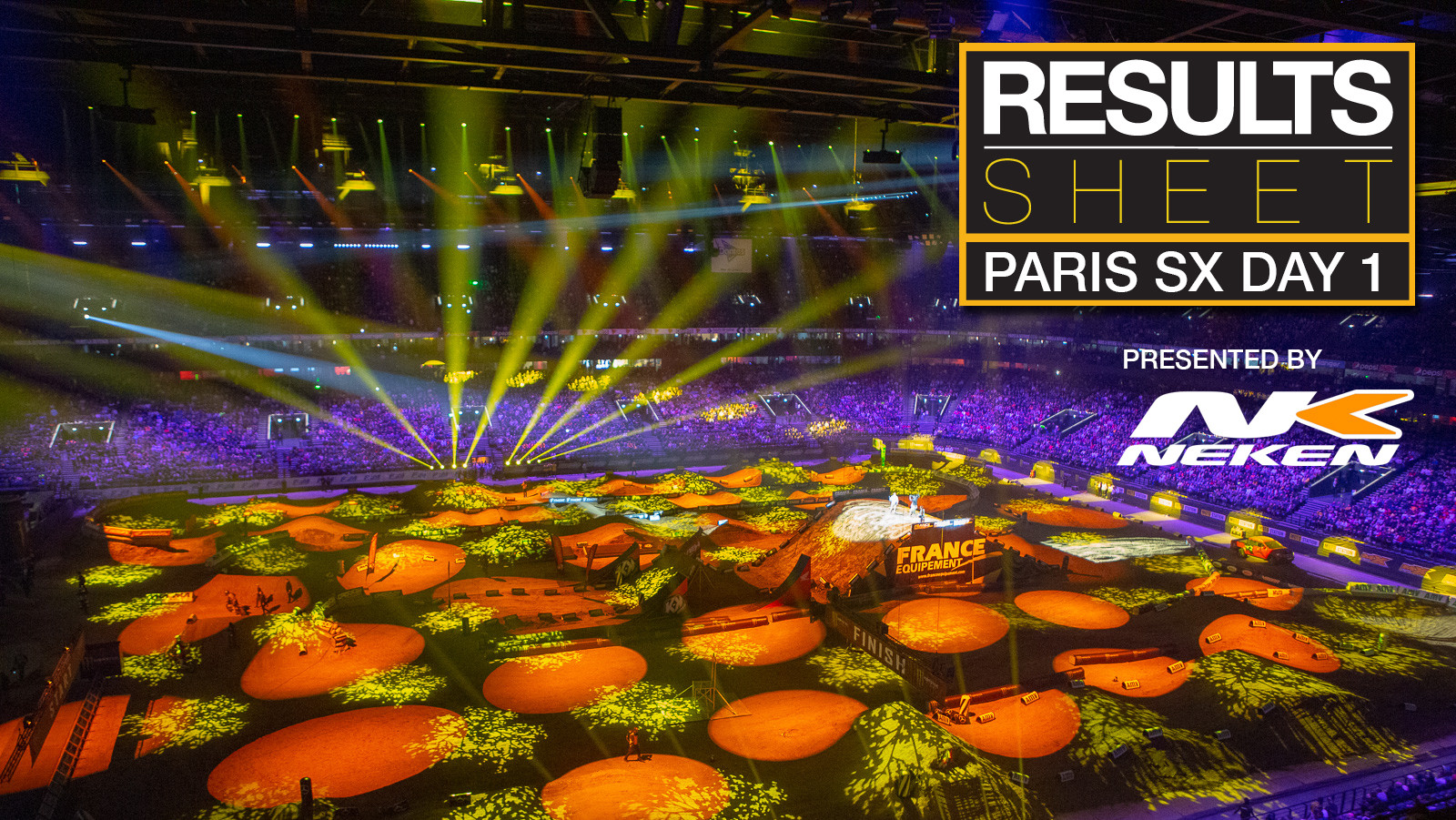 Results Sheet: Saturday Paris Supercross