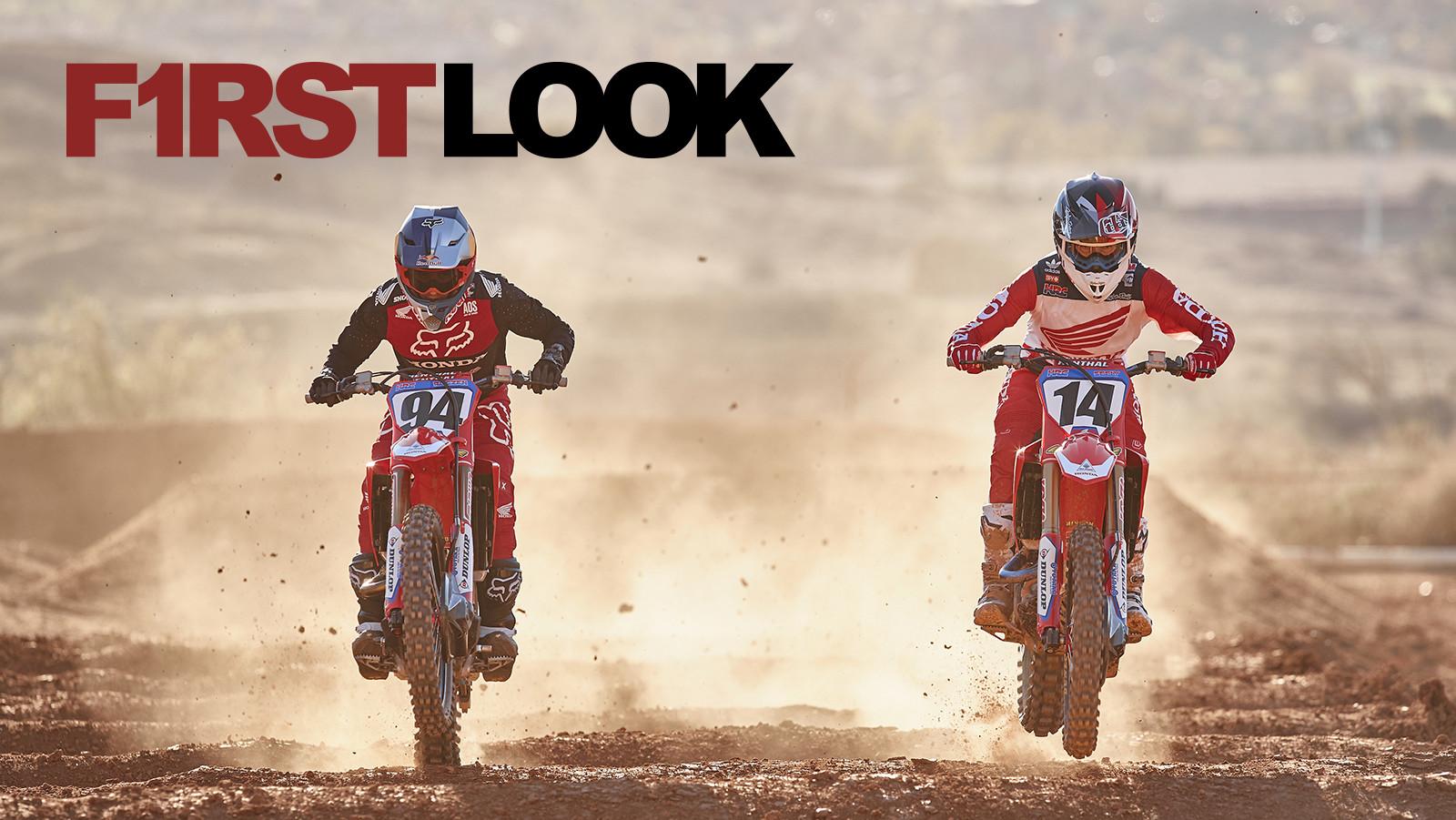 First Look: 2019 Team Honda HRC - Ken Roczen and Cole Seely