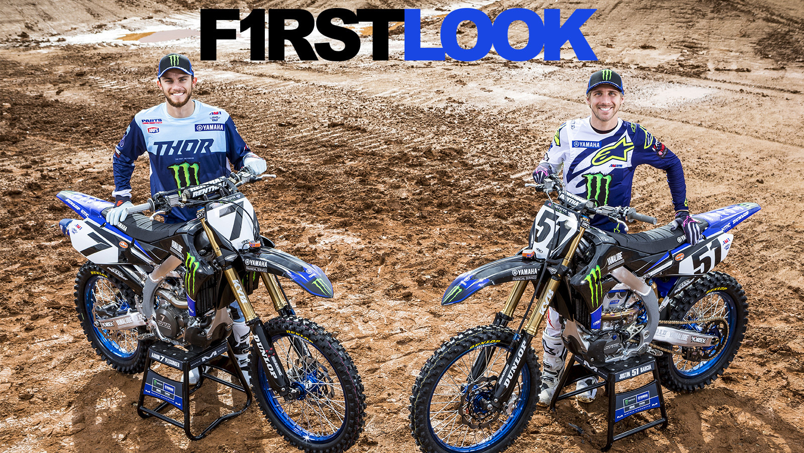 First Look: Monster Energy/Yamaha Factory Racing Team