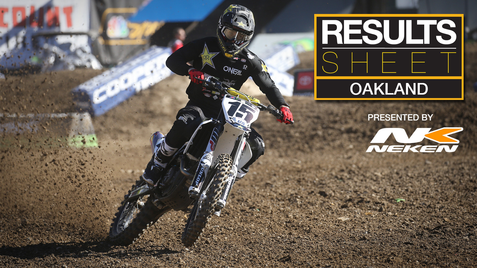 Results Sheet: 2019 Oakland Supercross