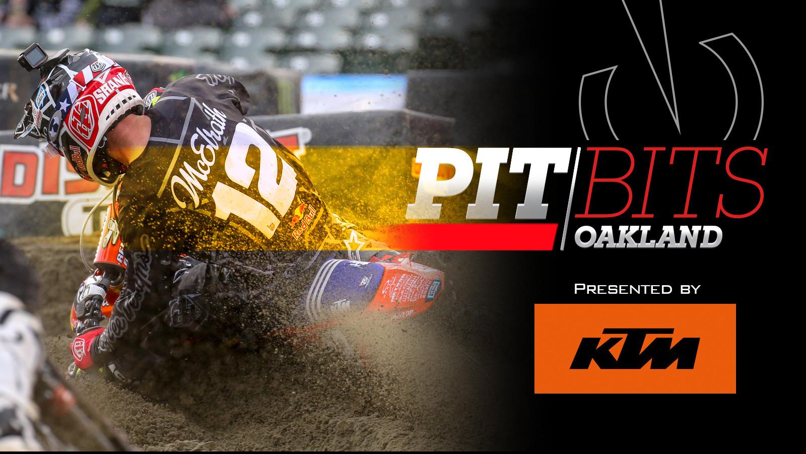 Pit Bits: Oakland