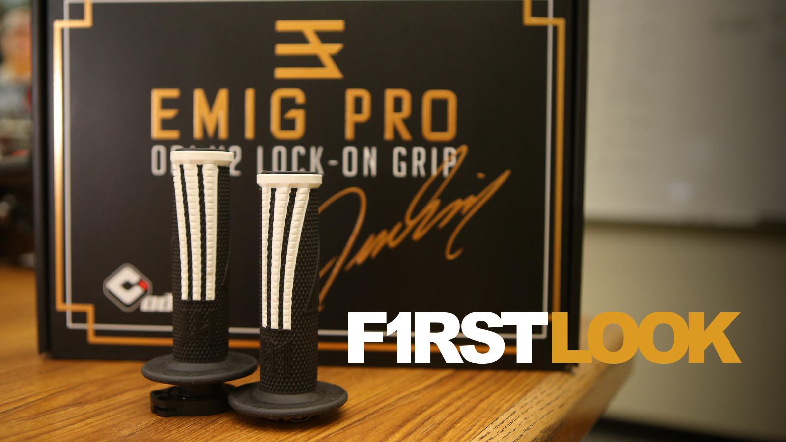 First Look: ODI Emig Pro V2 Lock-On Grip