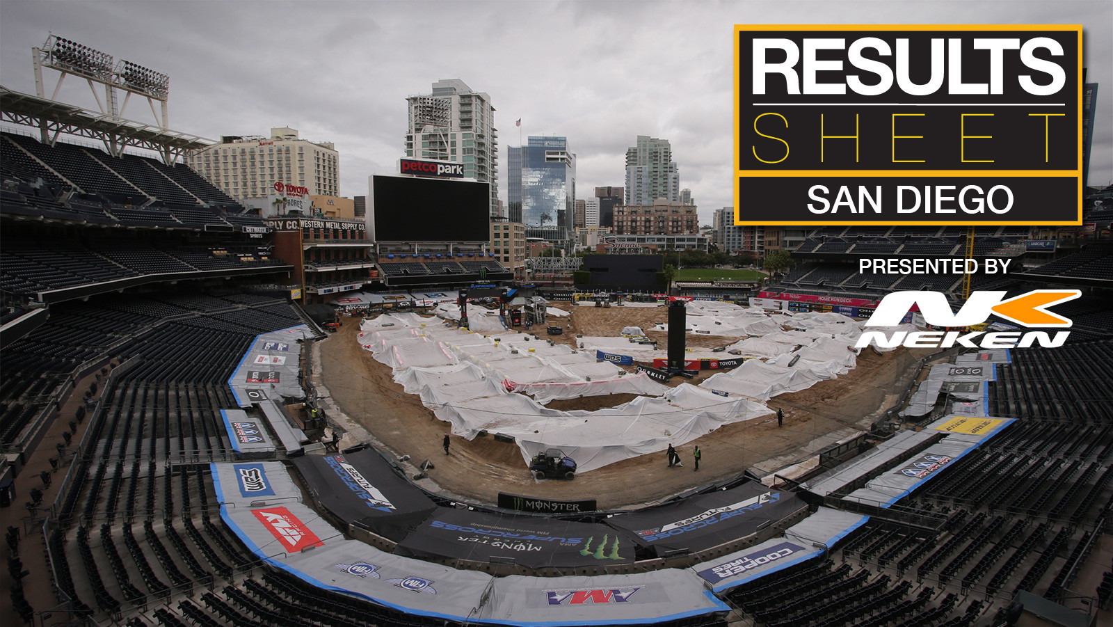 Results Sheet: 2019 San Diego Supercross