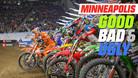 Good, Bad, 'n Ugly: Minneapolis