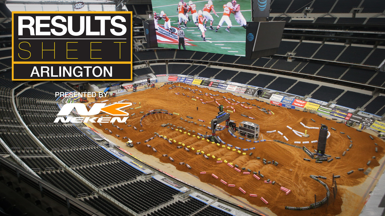 Results Sheet: 2019 Arlington Supercross