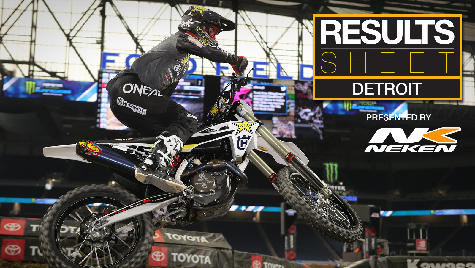 Results Sheet: 2019 Detroit Supercross