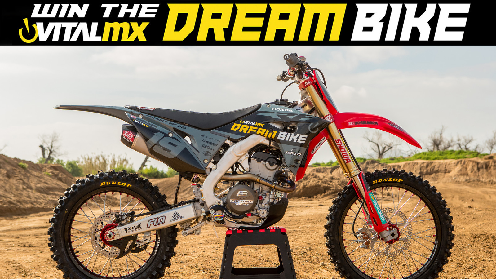 Win The Vital MX 2019 Honda CRF250R Dream Bike - Motocross