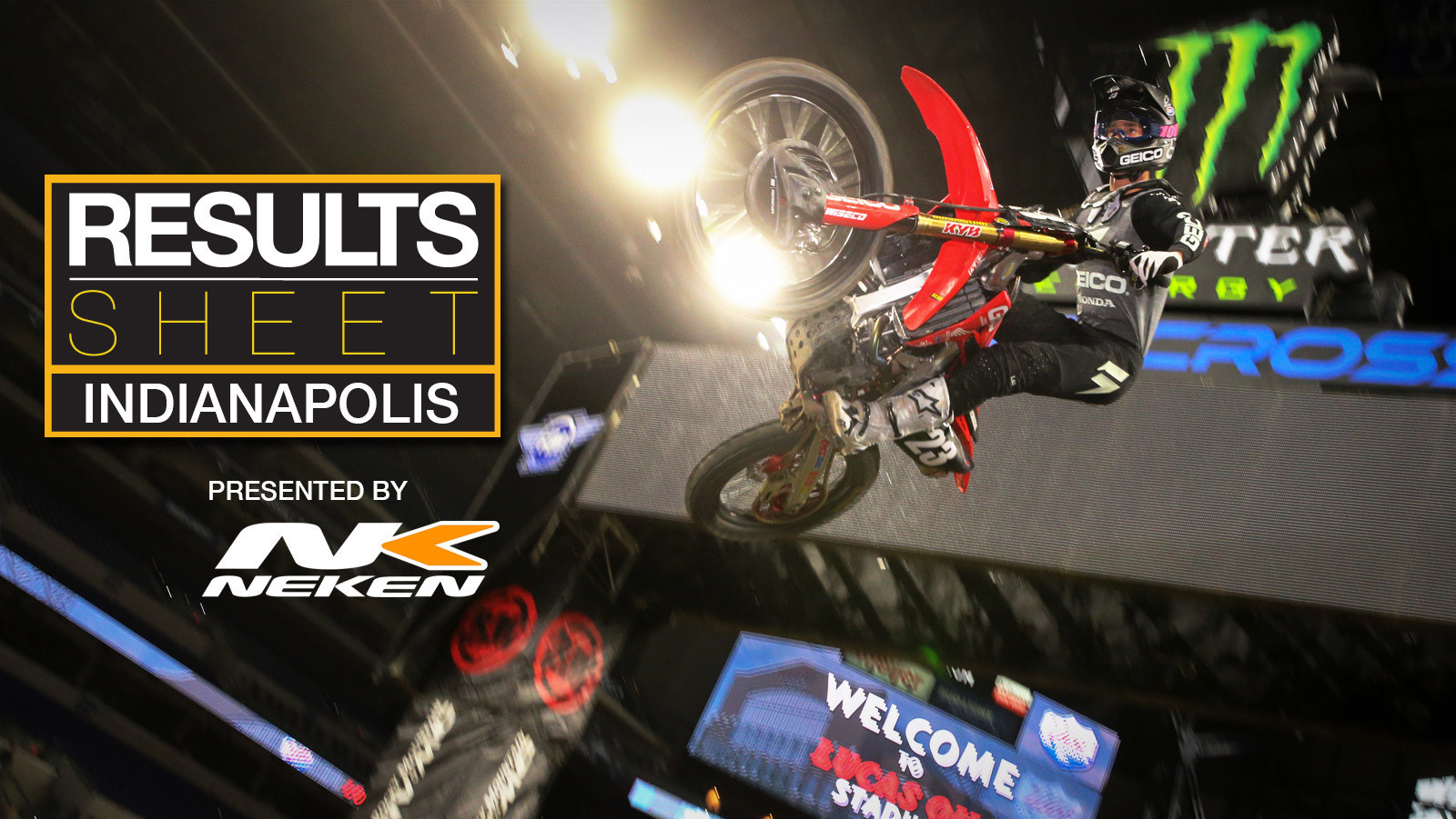 Results Sheet: 2019 Indianapolis Supercross