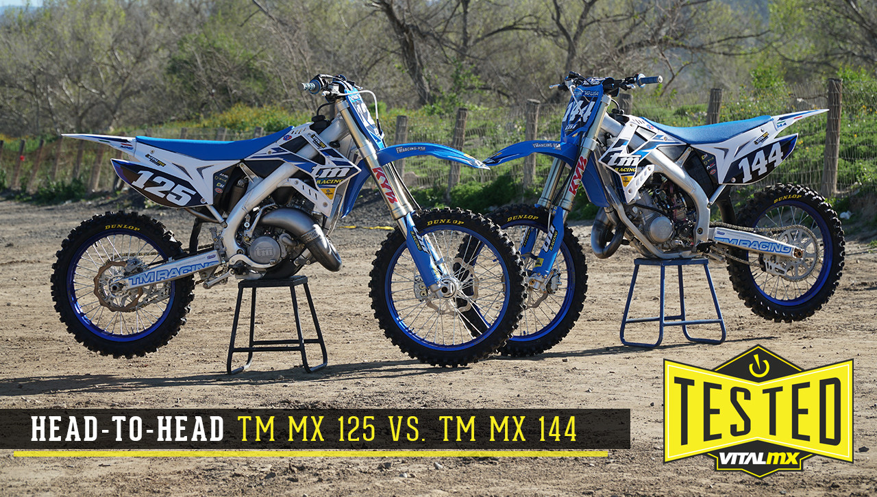 Head-To-Head: TM 125 vs. TM 144
