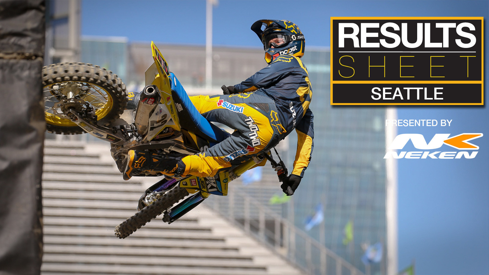 Results Sheet: 2019 Seattle Supercross