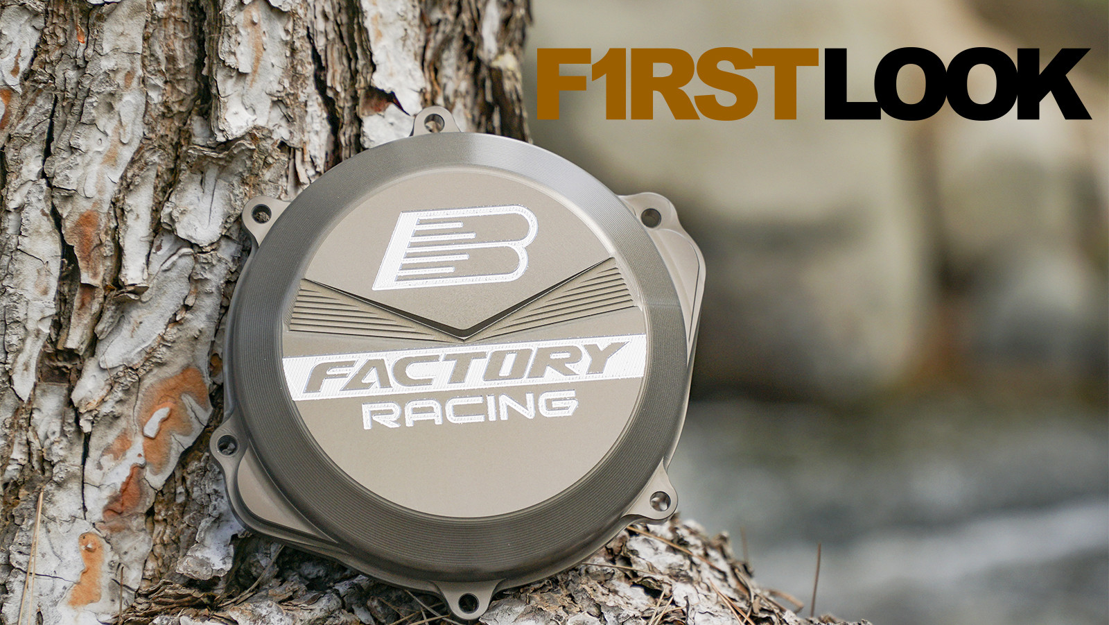 First Look: Boyesen Works Billet Factory Racing Clutch Cover