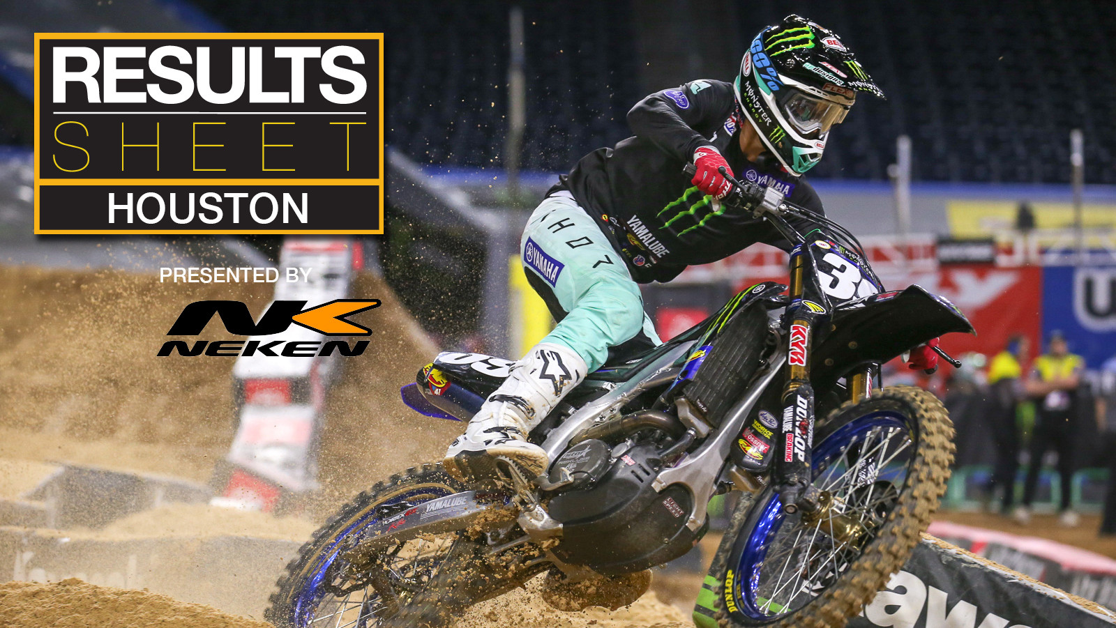 Results Sheet: 2019 Houston Supercross
