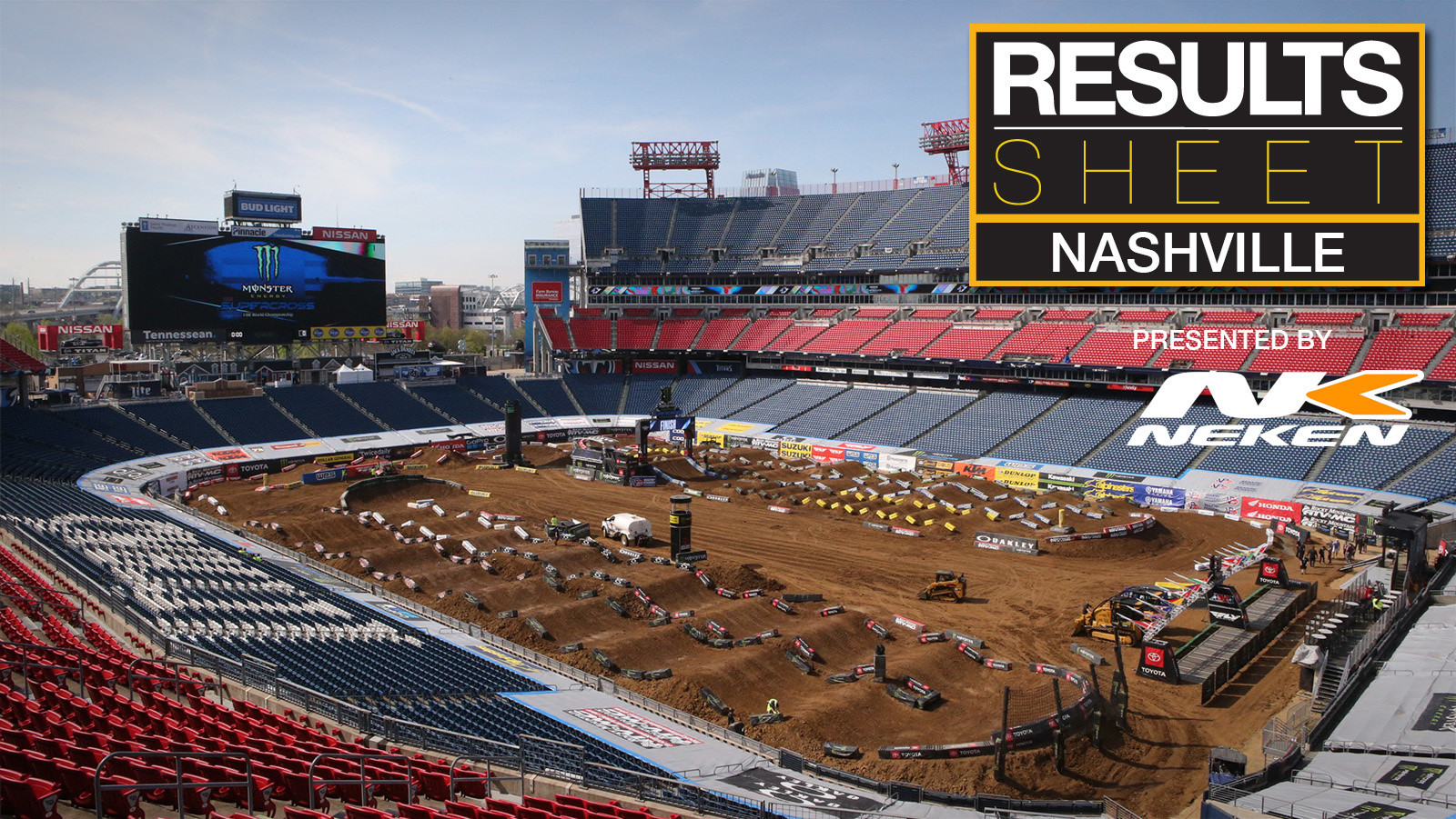 Results Sheet: 2019 Nashville Supercross