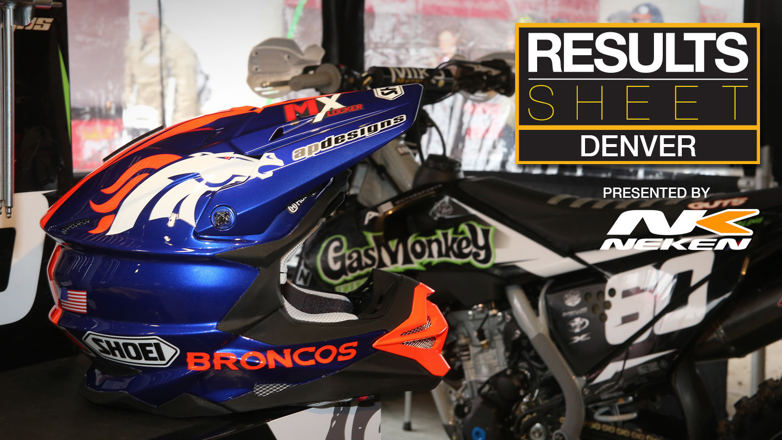 Results Sheet: 2019 Denver Supercross