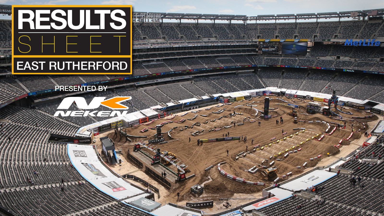 Results Sheet: 2019 East Rutherford Supercross