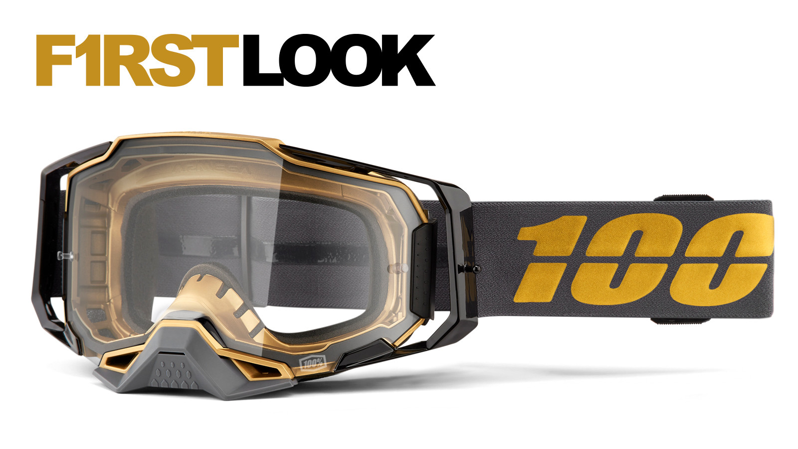 First Look: 100% Armega Goggle