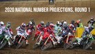 2020 AMA National Numbers Projections, Round 1