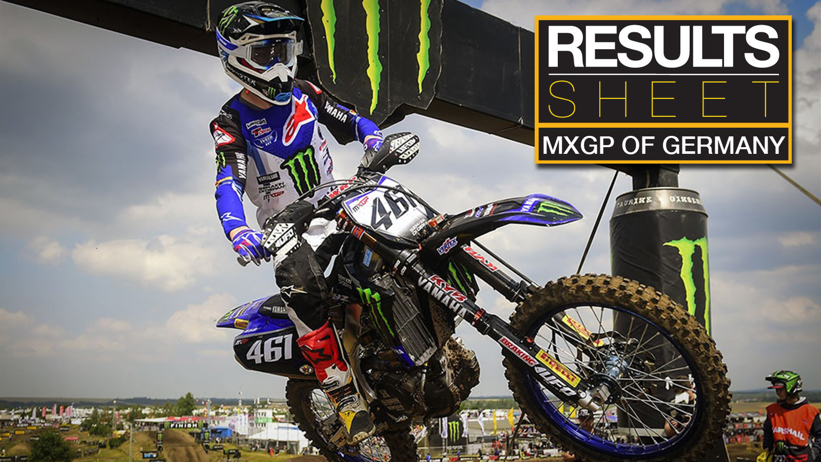 Results Sheet: 2019 MXGP of Germany