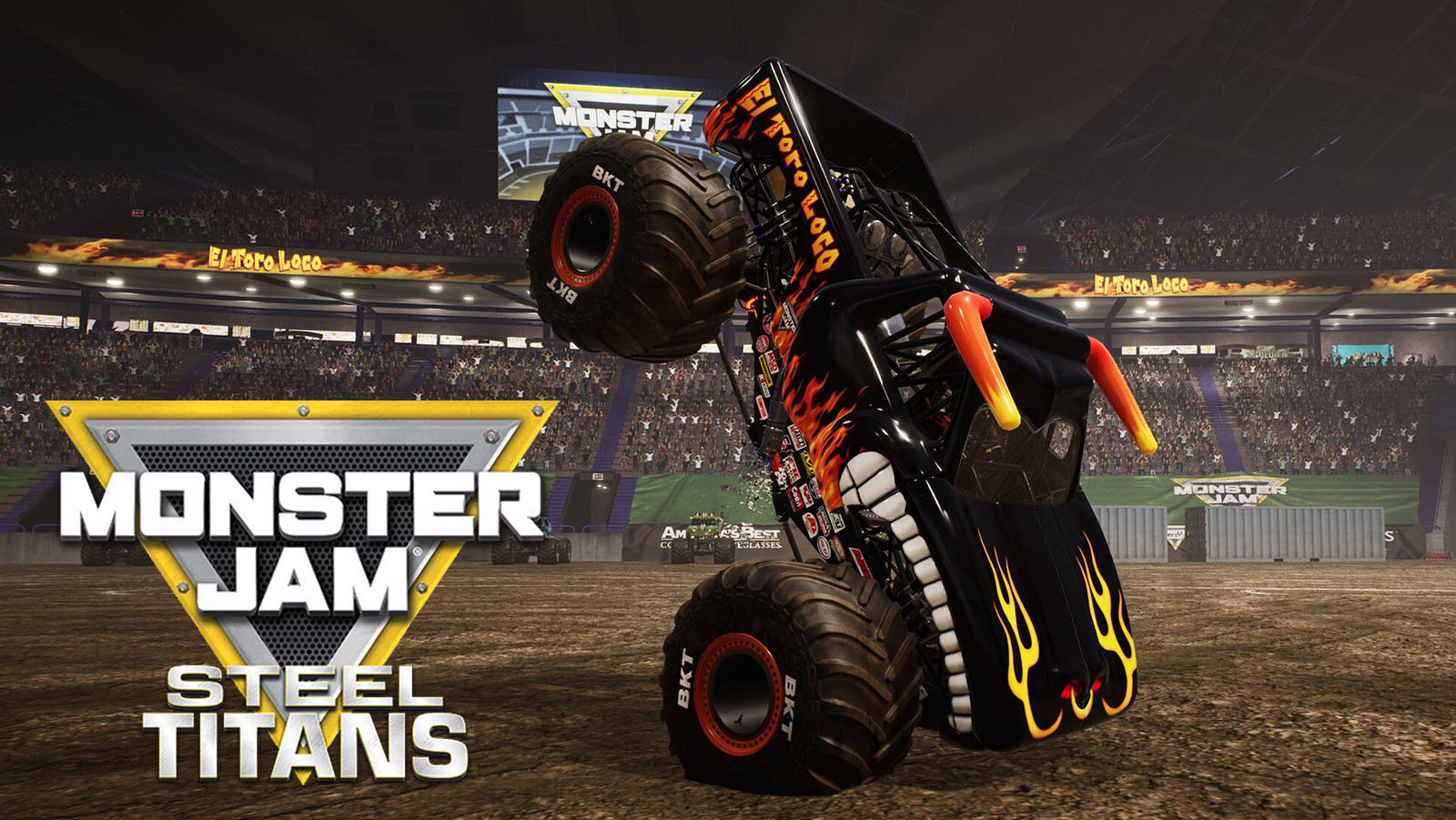 Monster Jam Steel Titans - Video Game