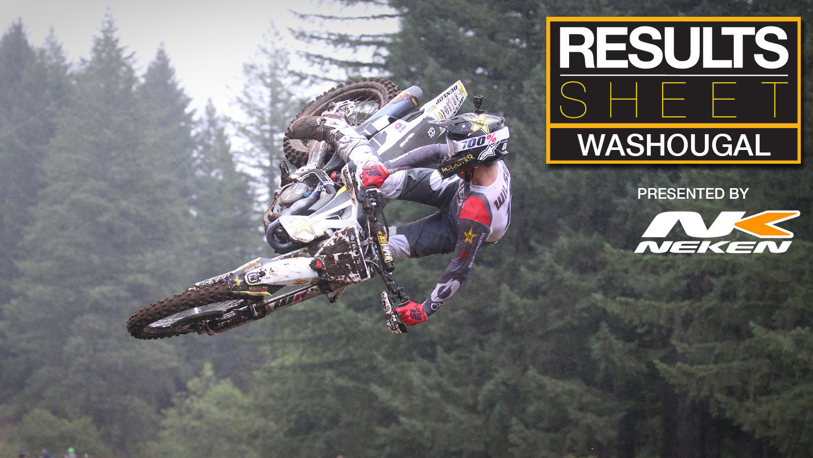Results Sheet: 2019 Washougal Motocross National