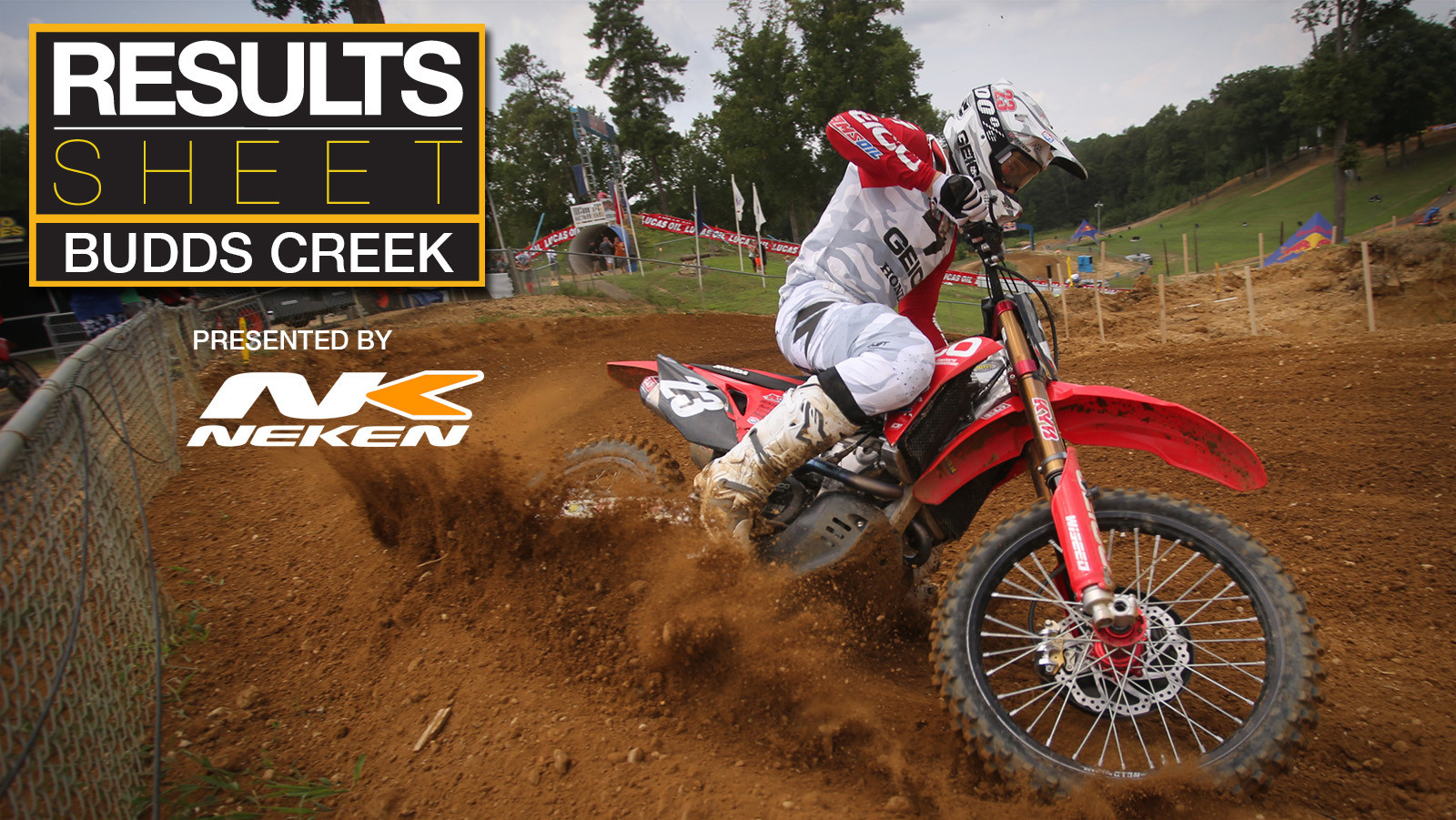 Results Sheet: 2019 Budds Creek Motocross National