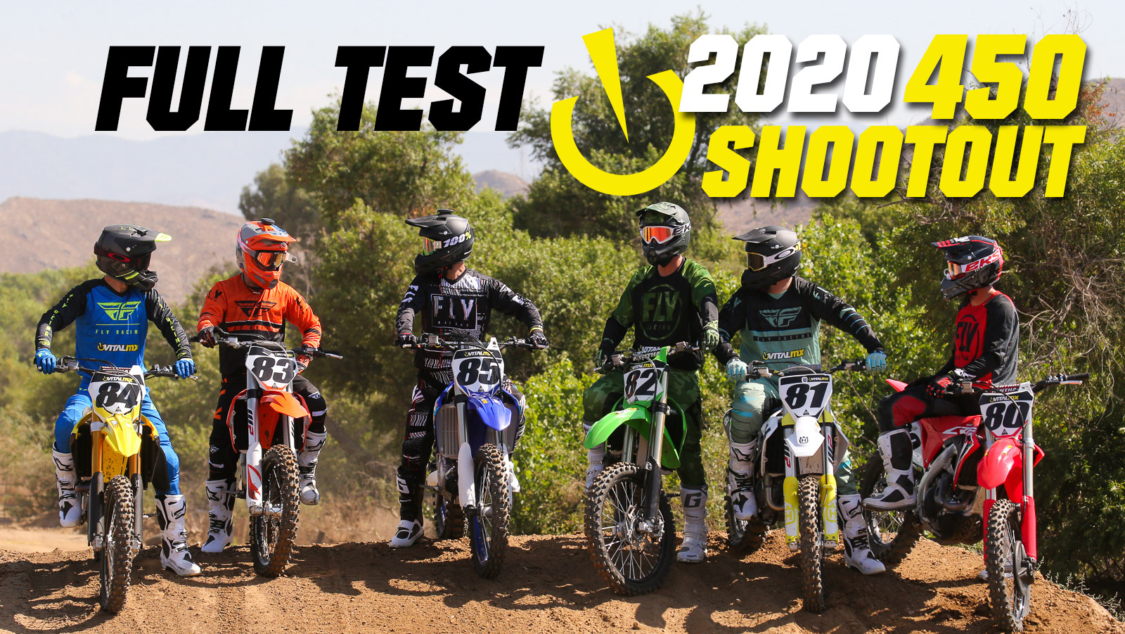 2020 Vital MX 450 Shootout: FULL TEST