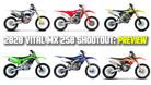 2020 Vital MX 250 Shootout: PREVIEW