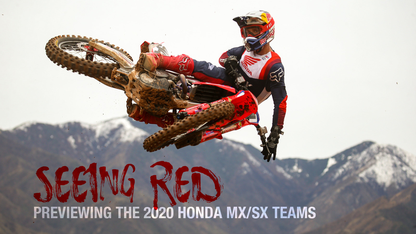 Seeing Red: Honda 2020 Team Intro