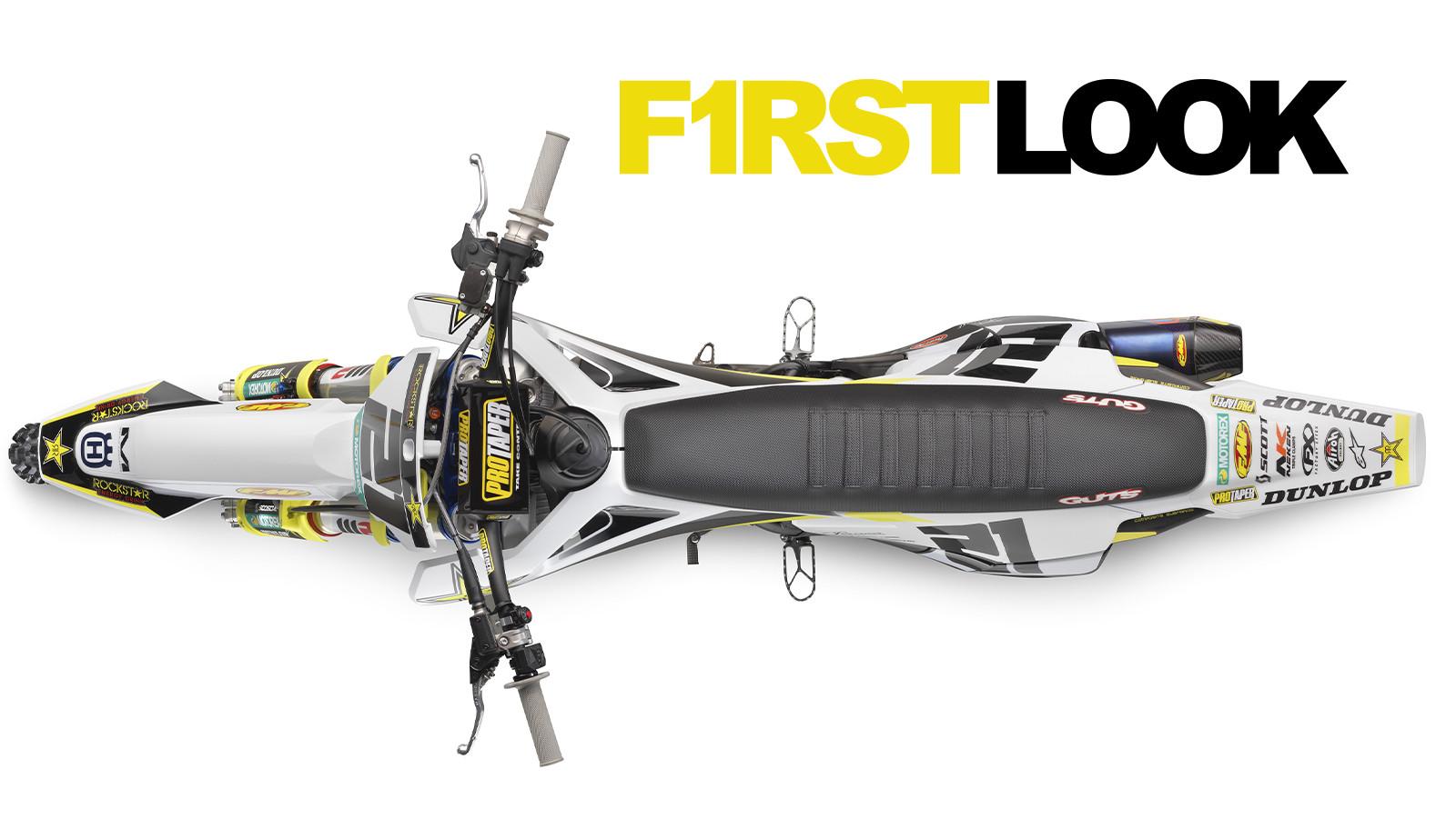 First Look: 2020 Husqvarna FC 450 Rockstar Edition