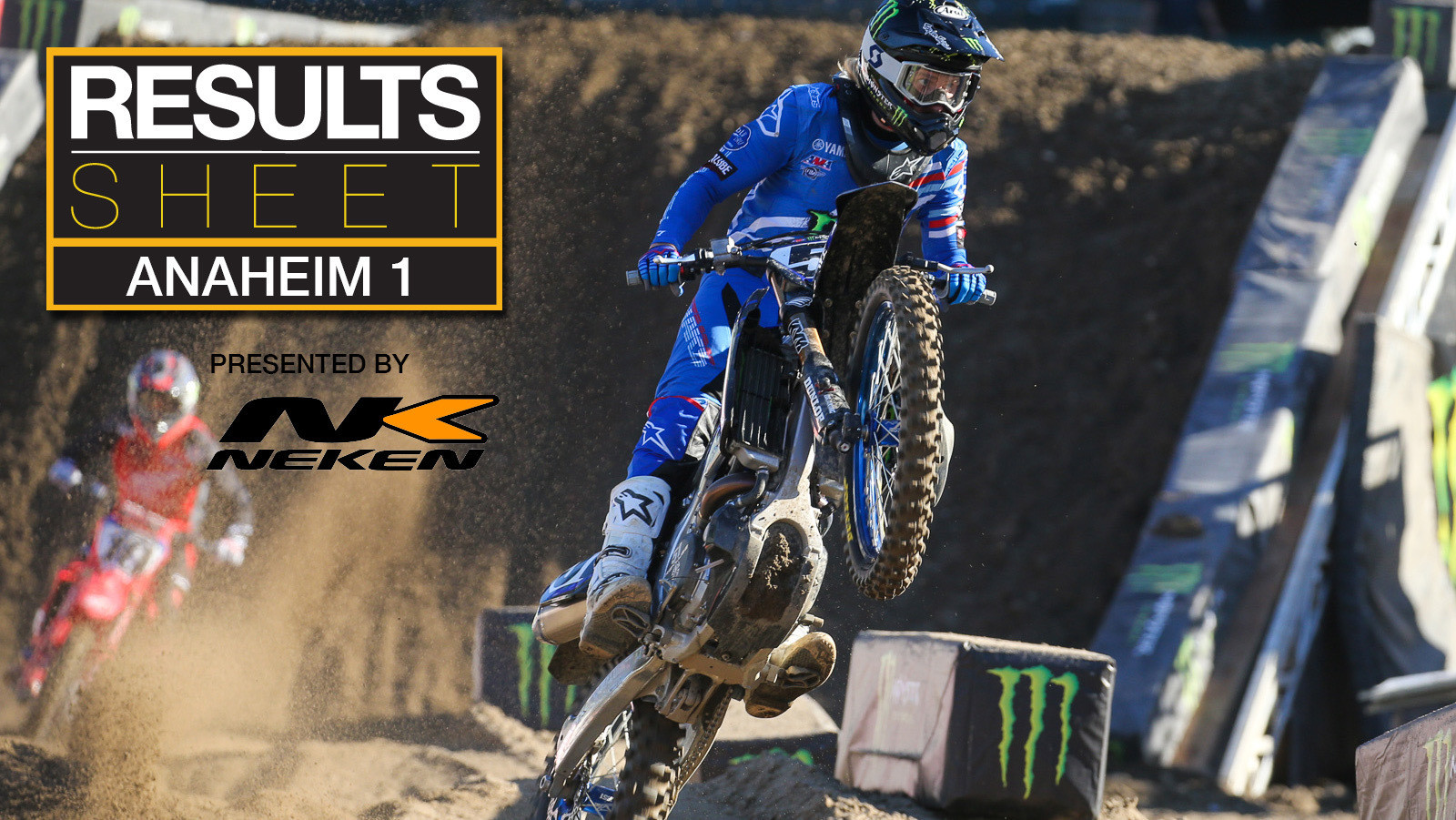 Results Sheet: 2020 Anaheim 1 Supercross