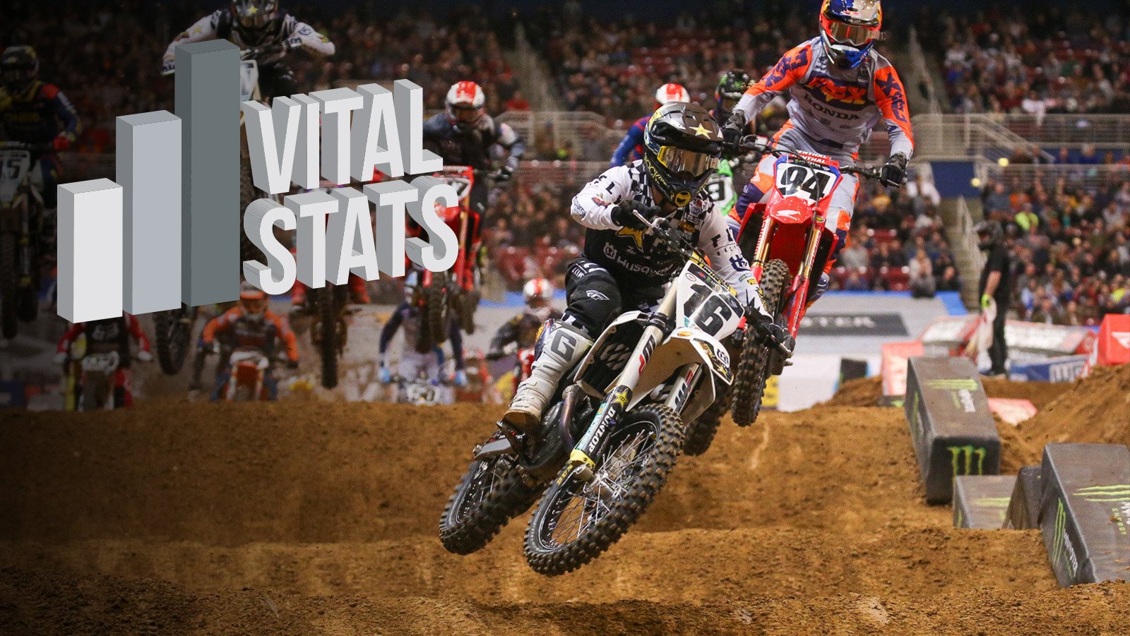 Vital Stats: 2020 Supercross Championship, Week 2
