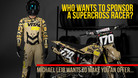 Who Wants To Sponsor A Supercross Racer?