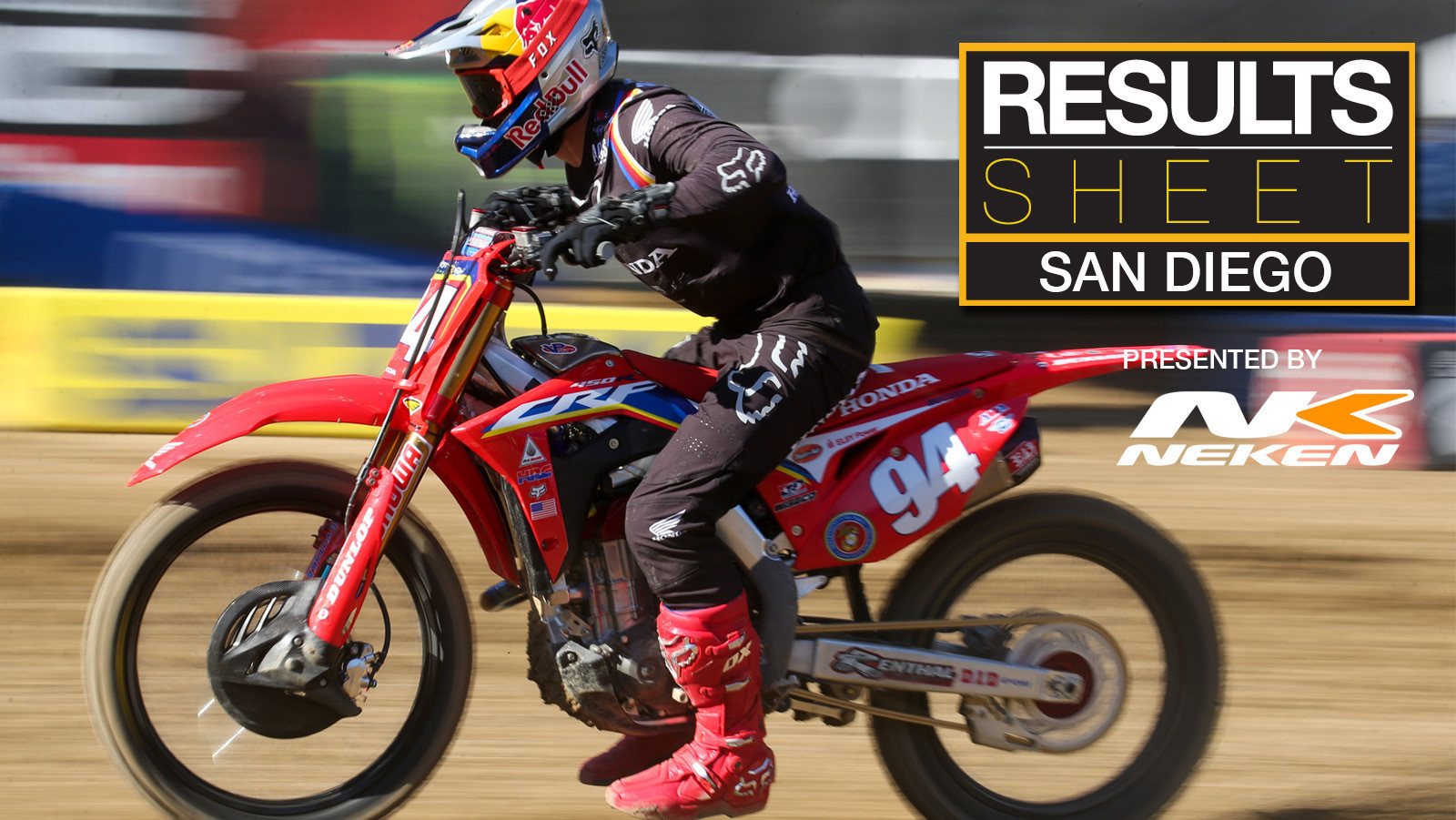 Results Sheet: 2020 San Diego Supercross