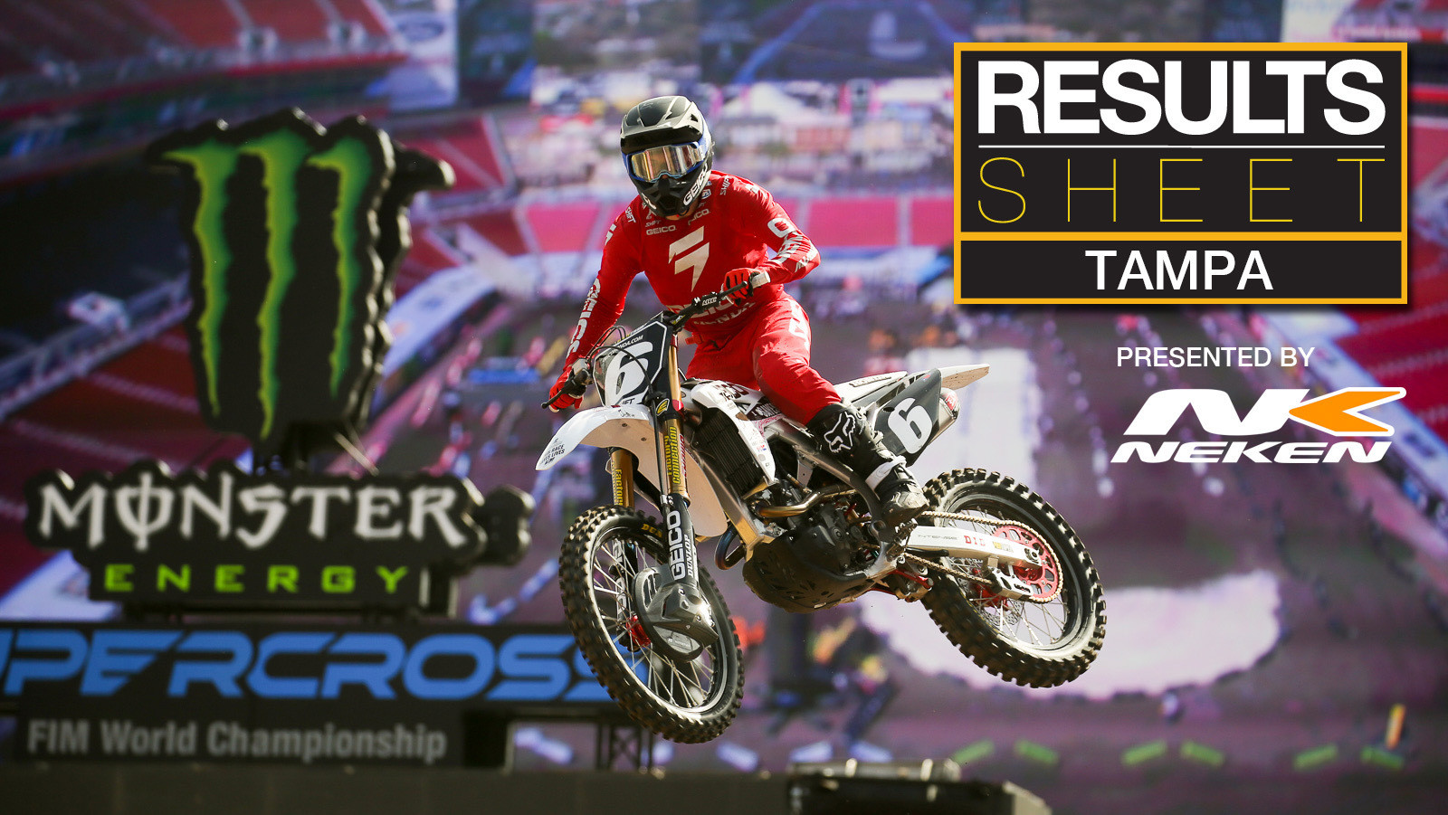 Results Sheet: 2020 Tampa Supercross