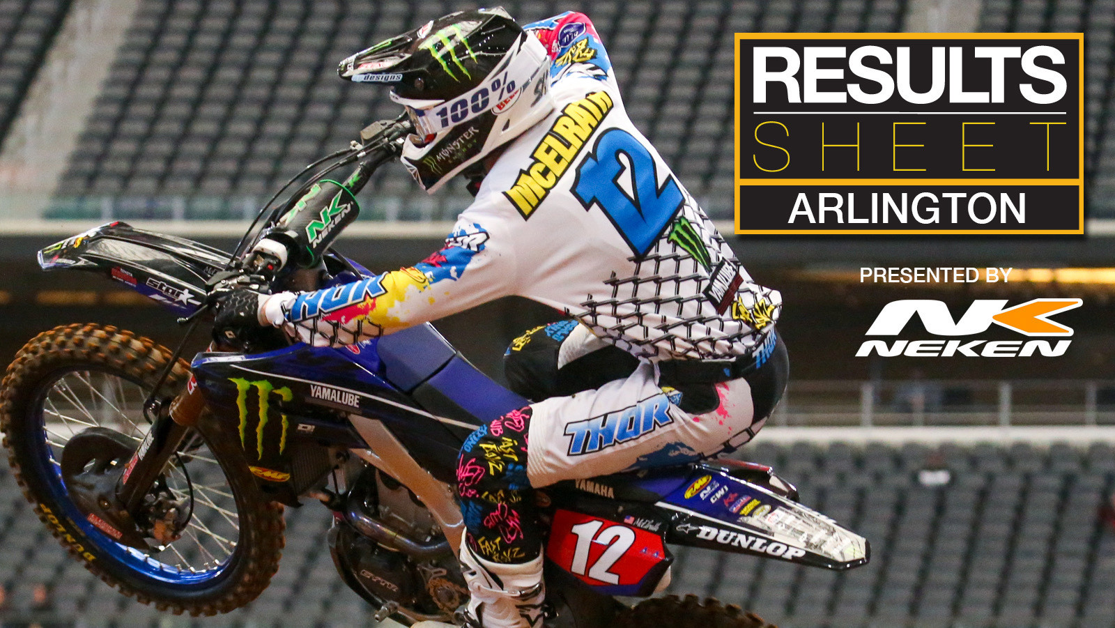 Results Sheet: 2020 Arlington Supercross