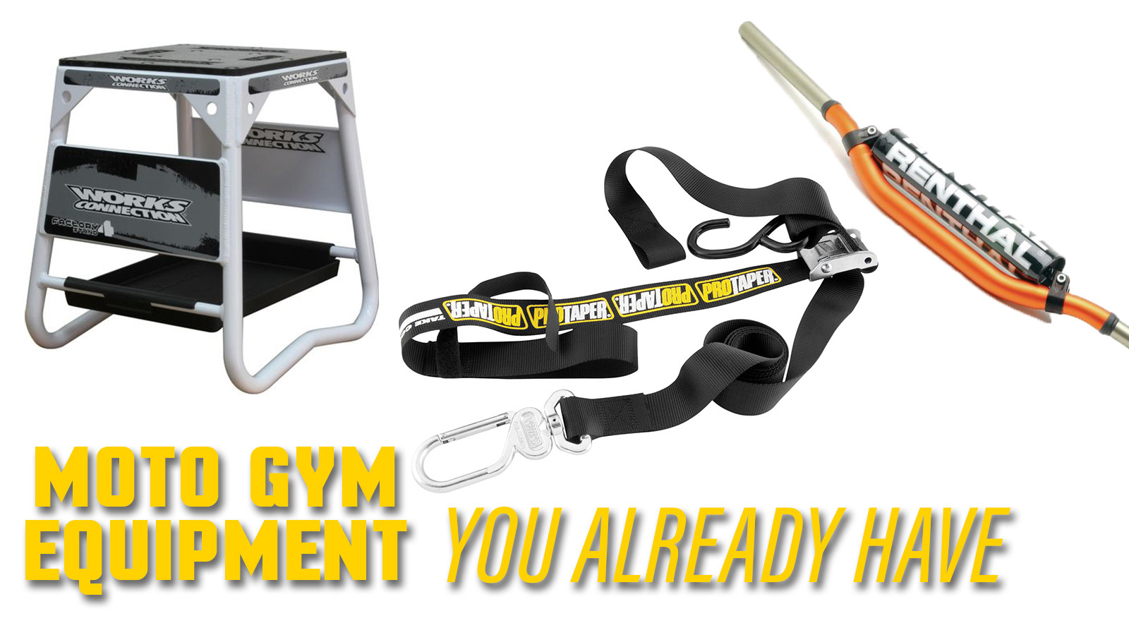 Moto Gym Equipment You Already Have