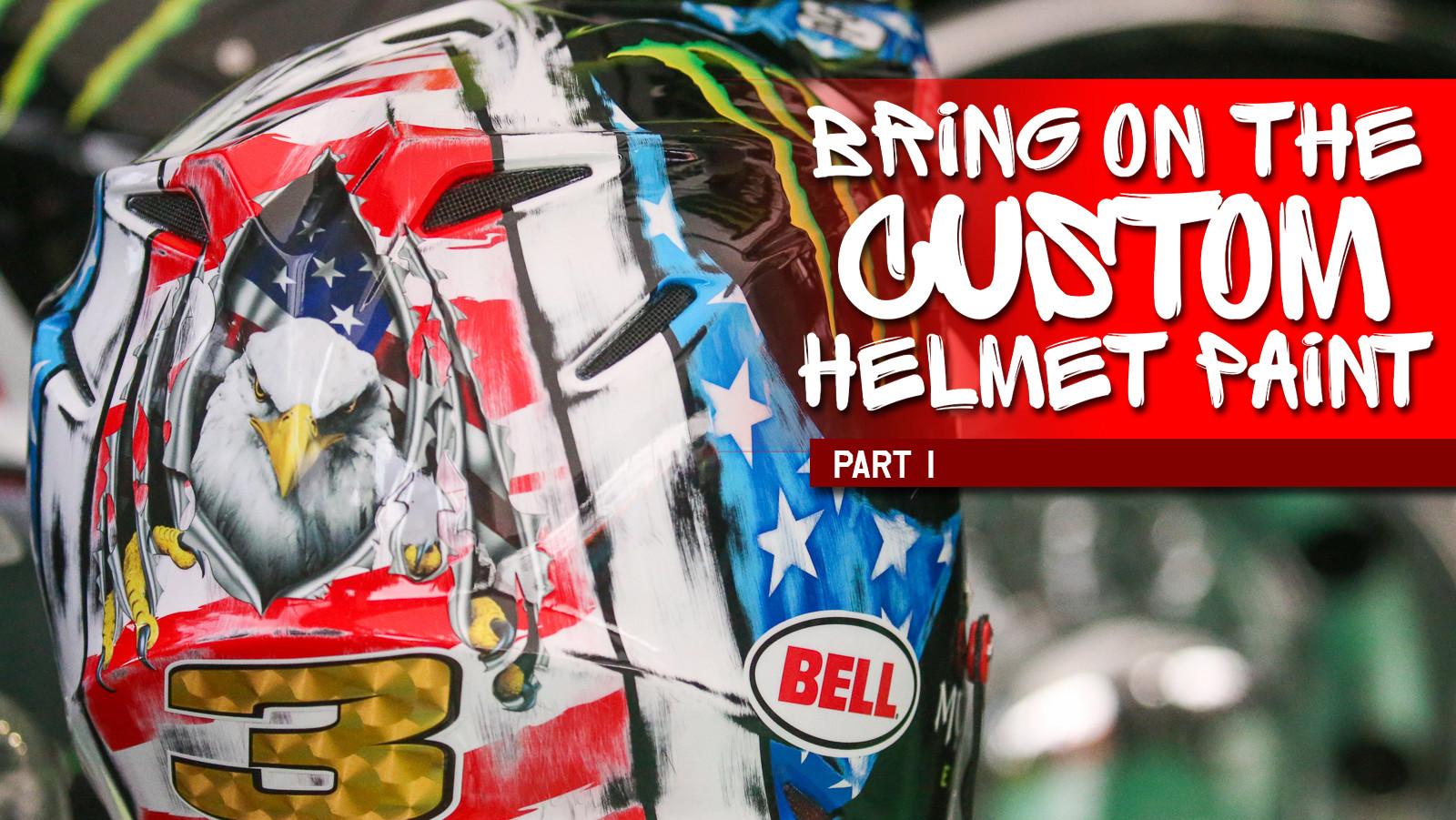 Bring On The Custom Helmet Paint, Part 1
