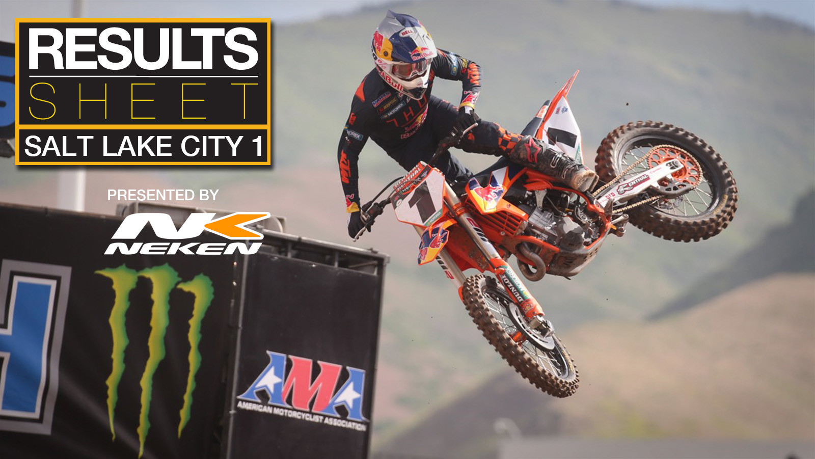 Results Sheet: 2020 Salt Lake City 1 Supercross