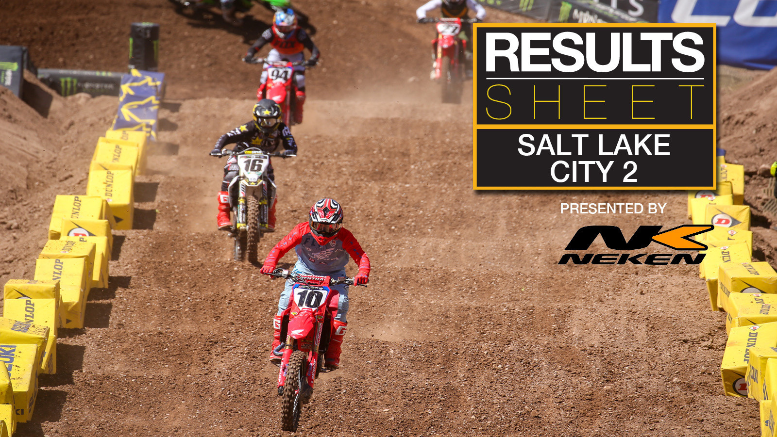 Results Sheet: 2020 Salt Lake City 2 Supercross