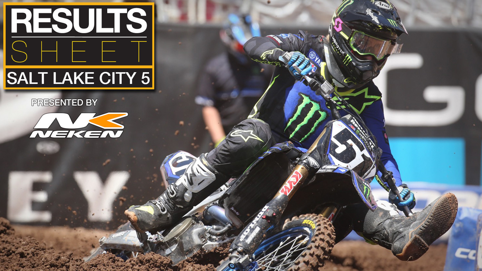 Results Sheet: 2020 Salt Lake City 5 Supercross