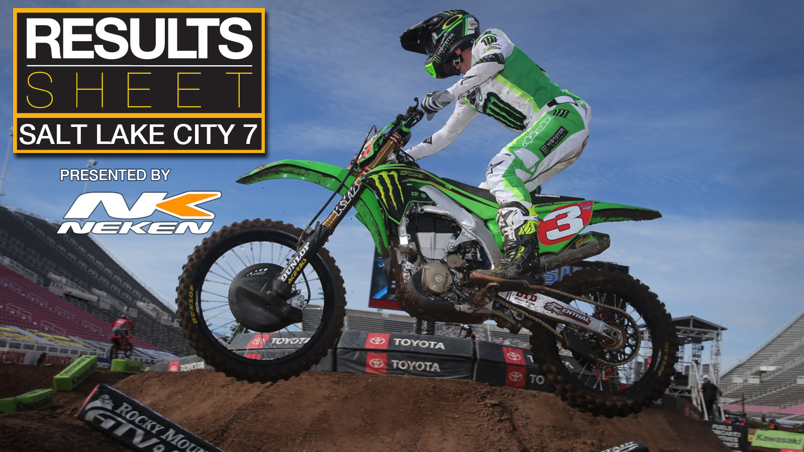 Results Sheet: 2020 Salt Lake City 7 Supercross