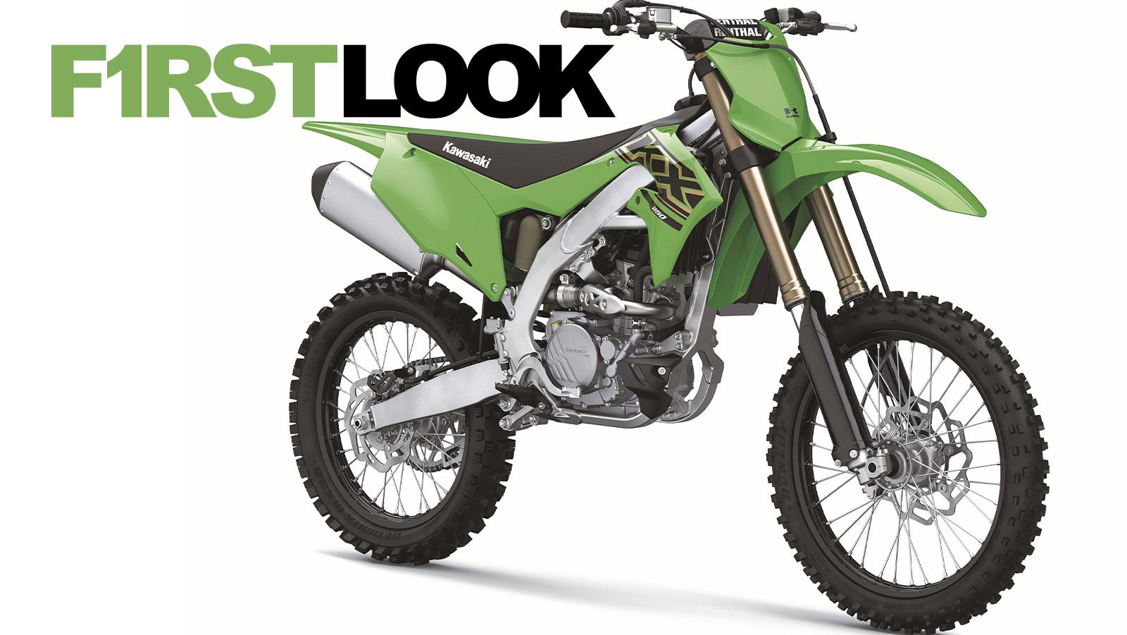 First Look: 2021 Kawasaki Motocross and Cross Country Bikes