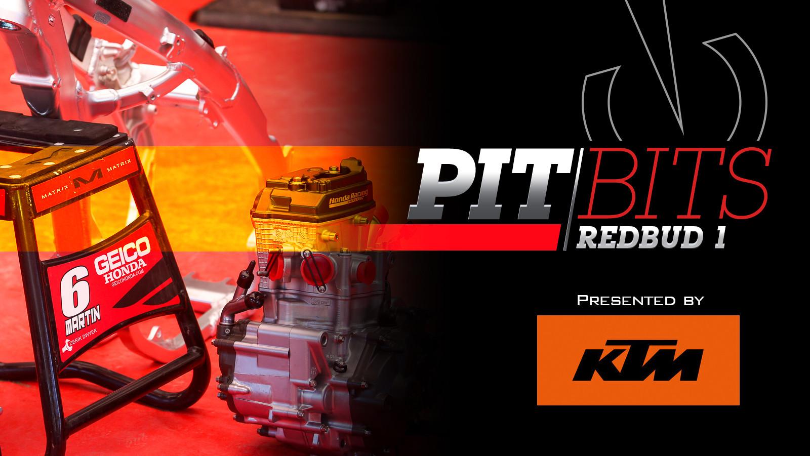 Vital MX Pit Bits: RedBud 1