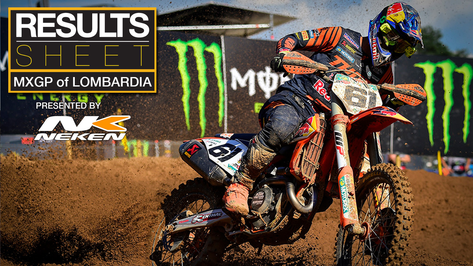 Results Sheet: 2020 MXGP of Lombardia