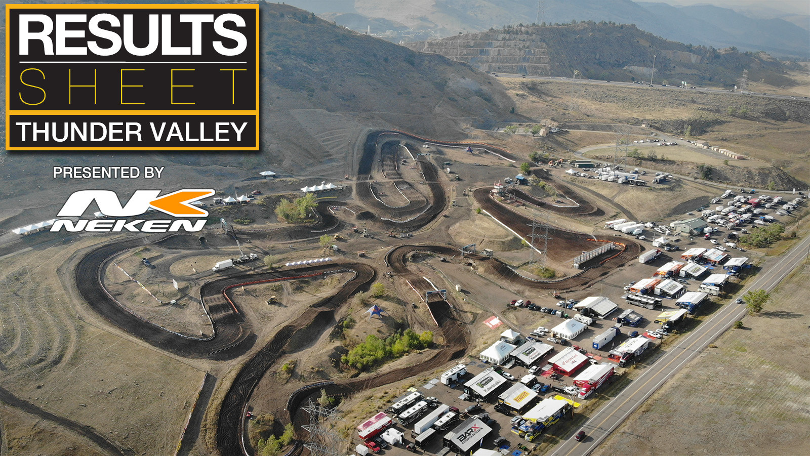 Results Sheet: 2020 Thunder Valley National